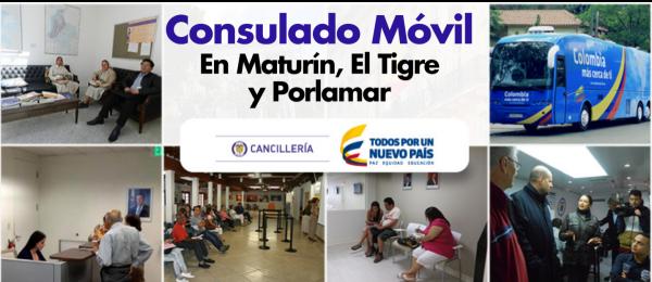 Consulados Móviles en Peurto La Cruz